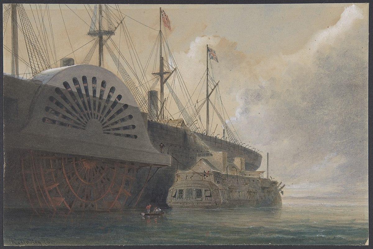 hms iris  1840