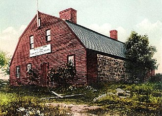 York, Maine - The Old Gaol (Jail) in 1901