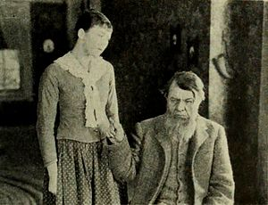 The Old Homestead (1922 film) - Fritzi Ridgeway and George Fawcett