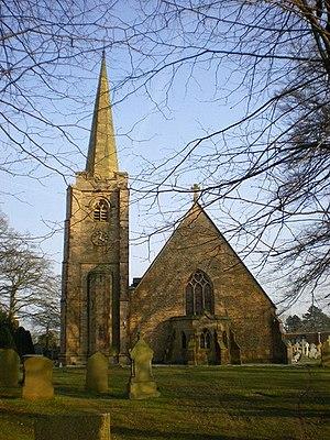 Balderstone, Lancashire - Image: The Parish Church of St Leonard, Balderstone geograph.org.uk 1216891