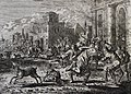 The Phillip Medhurst Picture Torah 318. The plague of flies. Exodus cap 8 v 24. Jan Luyken.jpg