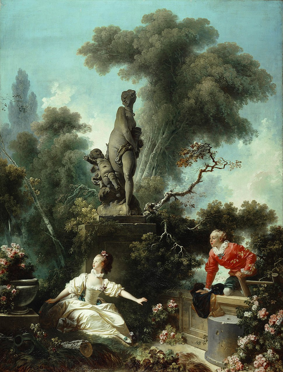 The Progress of Love - The Meeting - Fragonard 1771-72