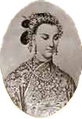 The Qing Dynasty Ci-Xi Dowager Empress of China as the Worthy Lady Lan.PNG