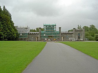 Plas Newydd (Anglesey) - Former stables, now part of the Conway Centre