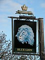 The Sign of the Blue Lion - geograph.org.uk - 1061216.jpg