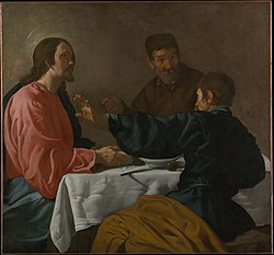 Diego Velázquez: The Supper at Emmaus