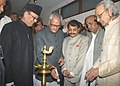 The Vice President of India, Shri Bhairon Singh Shekhawat inaugurating an exhibition of painting works by the former Prime Minister Shri V. P. Singh, in New Delhi on February 14, 2006.jpg