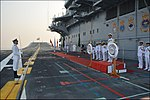 The Western Fleet celebrating its Golden Jubilee on board INS Vikramaditya.jpg
