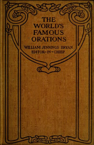 File:The World's Famous Orations Volume 6.djvu