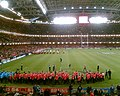 The choirs compete prior to Wales v England. - geograph.org.uk - 551939.jpg