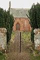 The gates to Southdean Parish Church - geograph.org.uk - 743276.jpg