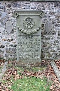 The grave of Patrick Heron Watson, Dean Cemetery, Edinburgh.jpg