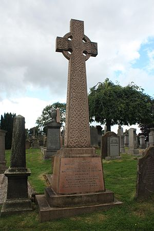 Henry Drummond (evangelist) - The grave of Rev Prof Henry Drummond, Valley Cemetery, Stirling