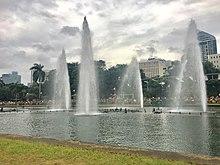 Dating pangalan ng Luneta puisto