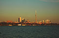 The skyline of Toronto from the mouth of the Humber River in 2005.jpg