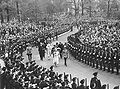 Their Majesties proceed along the ceremonial route in Toronto during the 1939 Royal Tour of Canada.jpg