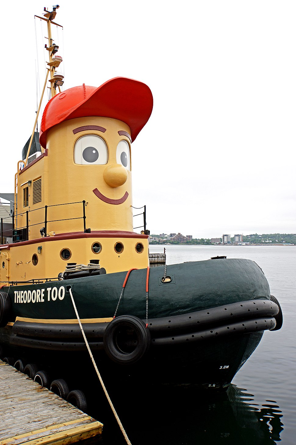 Theodore Tugboat at Murphys cable wharf