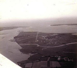 RAF Thorney Island airport in the United Kingdom