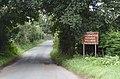 Thornton Hough Village sign, Raby Road.jpg