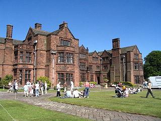 Thornton Manor Historic manor house in Thornton Hough, UK