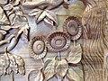 Three Sunflowers Carved (15374524201).jpg
