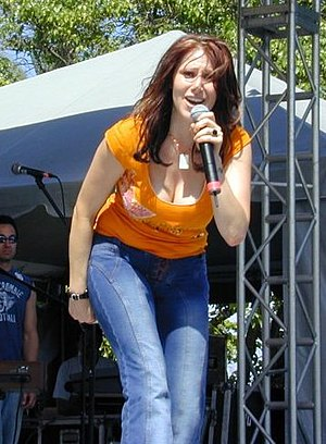 Tiffany Darwish - Tiffany performing in 2003