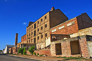 Tiger Brands - The Old Tiger Oats buildings in Moorreesburg.