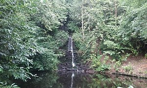 Friday Street - The Tillingbourne Waterfall near Friday Street