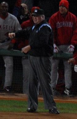 MLB Umpire Tim Welke