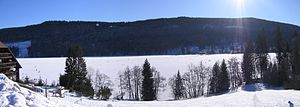 Titisee - Image: Titisee gefroren
