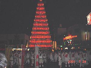 Tobata-ku, Kitakyūshū - Tobata Gion yamagasa float. Tobata's is host to the Tobata Gion Yamagasa festival.