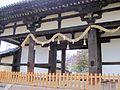 Todai-ji Tegai-mon National Treasure 国宝東大寺転害門05.JPG