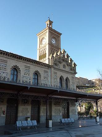 Toledo railway station - Image: Toledo railway station