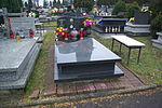 Tomb of Danuta and Tadeusz Święs at Central Cemetery in Sanok 1.jpg