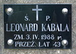 Tomb of Robak family at Central Cemetery in Sanok 4 Leonard Kabala.jpg