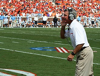 Tommy Bowden - Bowden in 2006 as Clemson's head coach.