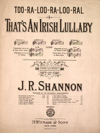 The original sheet music Too-Ra-Loo-Ra-Loo-Ral.pdf