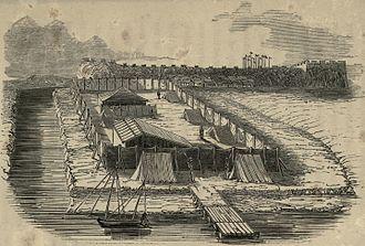 Convention of Chuenpi - Encampment where Elliot met Qishan