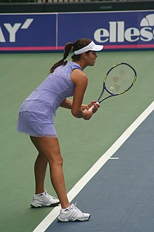 Ana Ivanović durante il Toray Pan Pacific Open 2009
