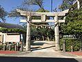 Torii of Tashiro-Hokamachi Temman Shrine.jpg
