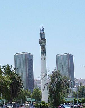 Torres y Minarete de Agua Caliente