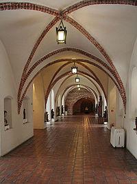 Dawne ławy chlebowe ratusza, obecnie Galeria Sztuki Gotyckiej w Muzeum Okręgowym w Toruniu