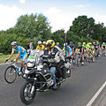 Tour de France - the peloton on Sawston by-pass - geograph.org.uk - 4059979.jpg