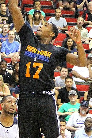 Toure' Murry - Murry playing for the Knicks in the 2013 NBA Summer League