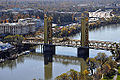 Tower Bridge, Sacramento, from elevated position (2011).jpg