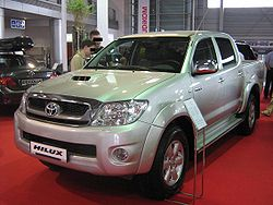 Toyota Hilux VI Double Cab Facelift front - PSM 2009.jpg