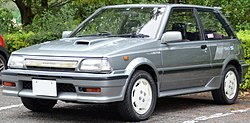 Toyota Starlet 1.3 Turbo S Limited (EP71, Japán)