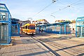 Tram in Sofia in front of Central Railway Station 2012 PD 044.jpg