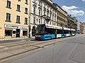 Tramway, Veletržní , Prague (juillet 2019).jpg