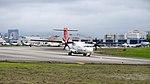 TransAsia Airways ATR 72-212A B-22817 Departing from Taipei Songshan Airport 20150321b.jpg